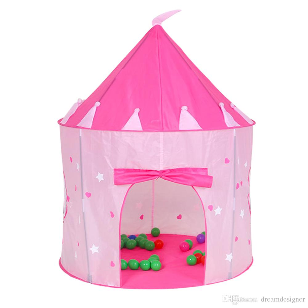 Princess Castle Play Tent With Glow In The Dark Stars Conviniently Folds In To A Carrying Case Your Kids Will Enjoy This Foldable Pop Up P Tents For ...  sc 1 st  DHgate.com & Princess Castle Play Tent With Glow In The Dark Stars ...