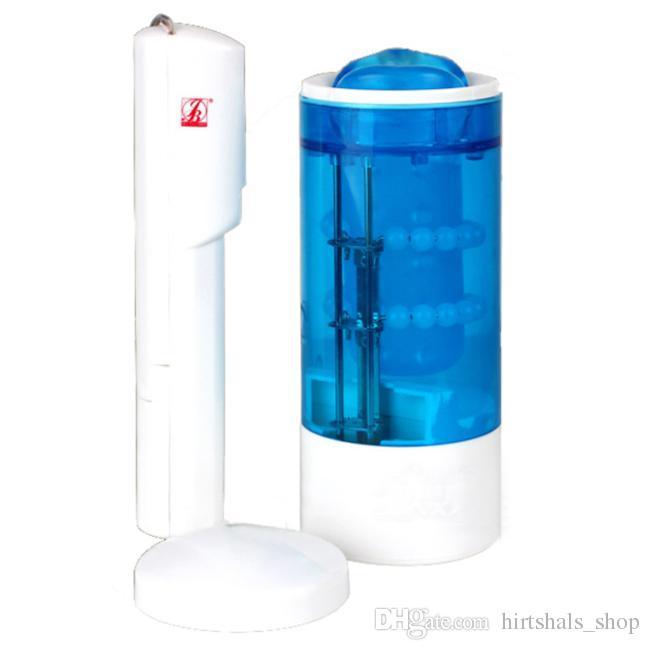 Automatic Oral Sex Masturbation Hot Sweet Blue Lips Masturbator Pussy Machine Sex Vagina Machine Cup Toys for Men Sex Toy