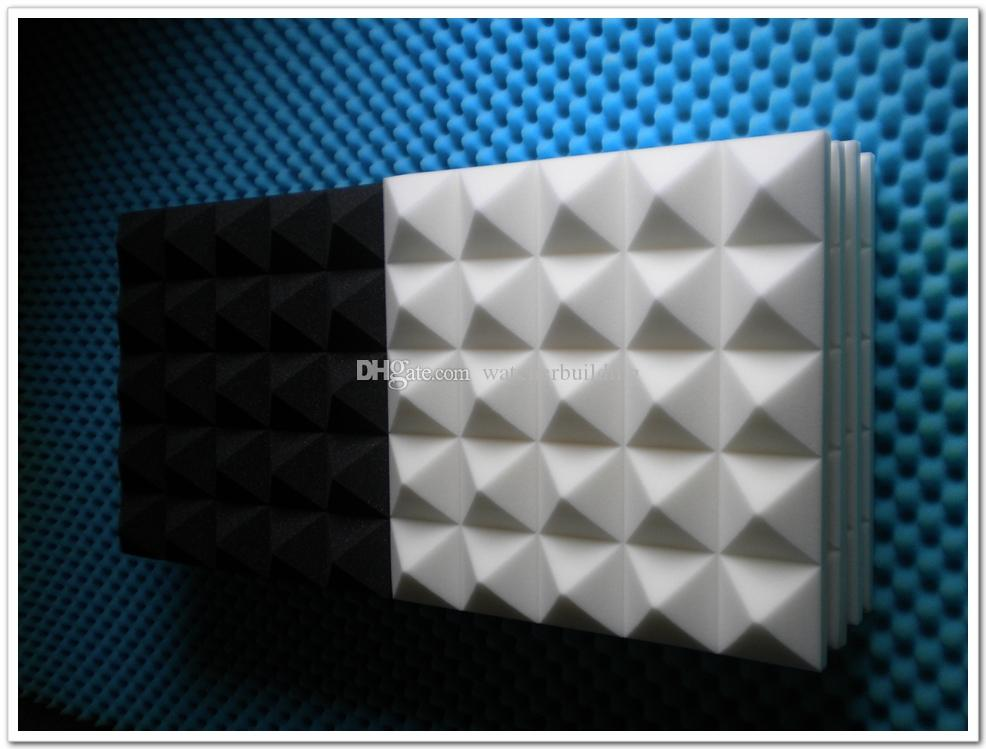 2019 New Arrival White Color Pyramid Acoustic Foam