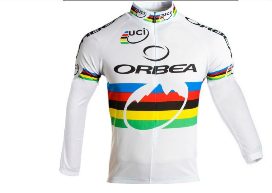 075b51847 2018 Orbea UCI Pro Team Winter Fleece Cycling Windproof Windjacket Thermal Mtb  Biking Coat Mens Warm Up Jacket Winter Cycling Jacket 2018 Winter Cycling  ...