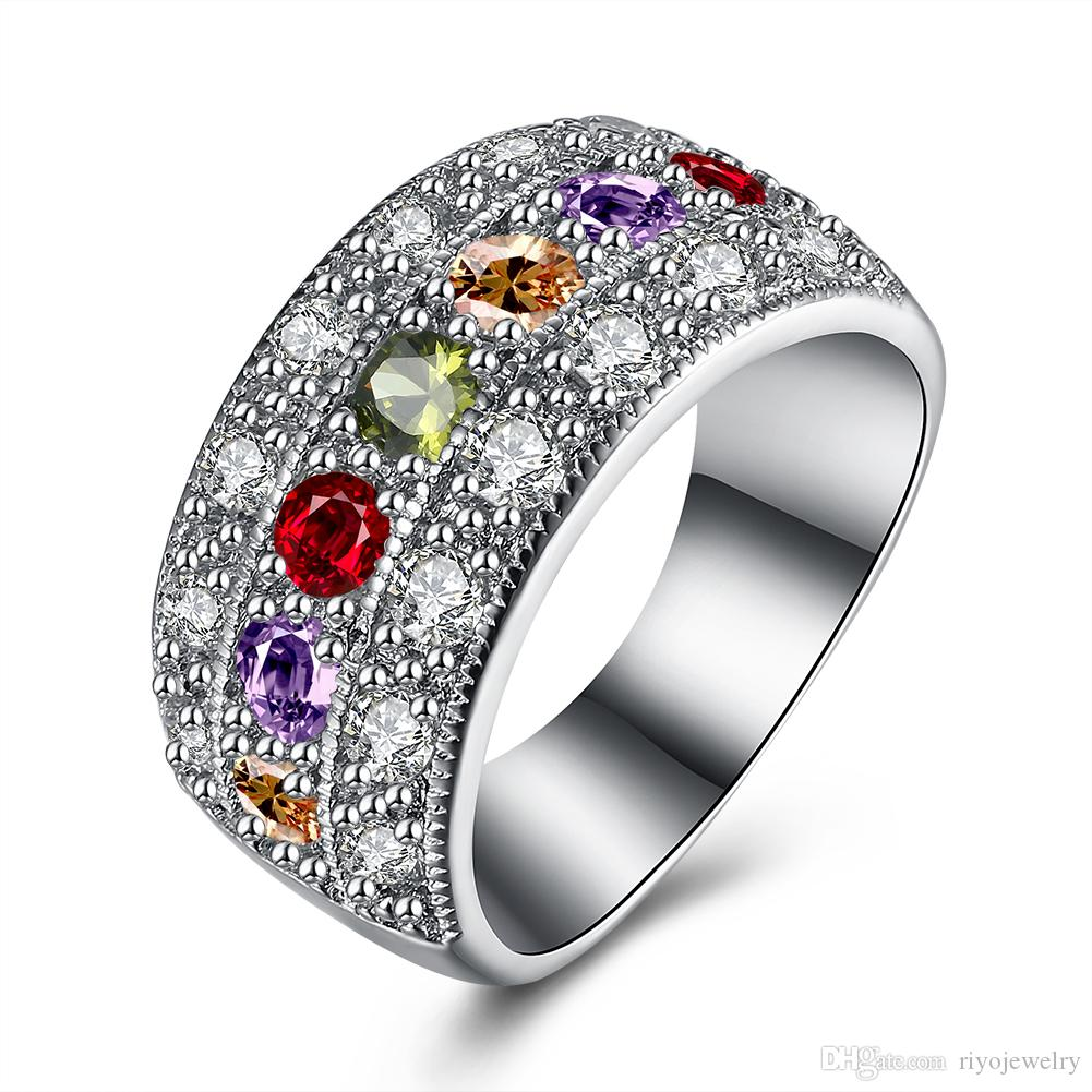 engagement and rings purple ringblack vancaro stone wedding ring black