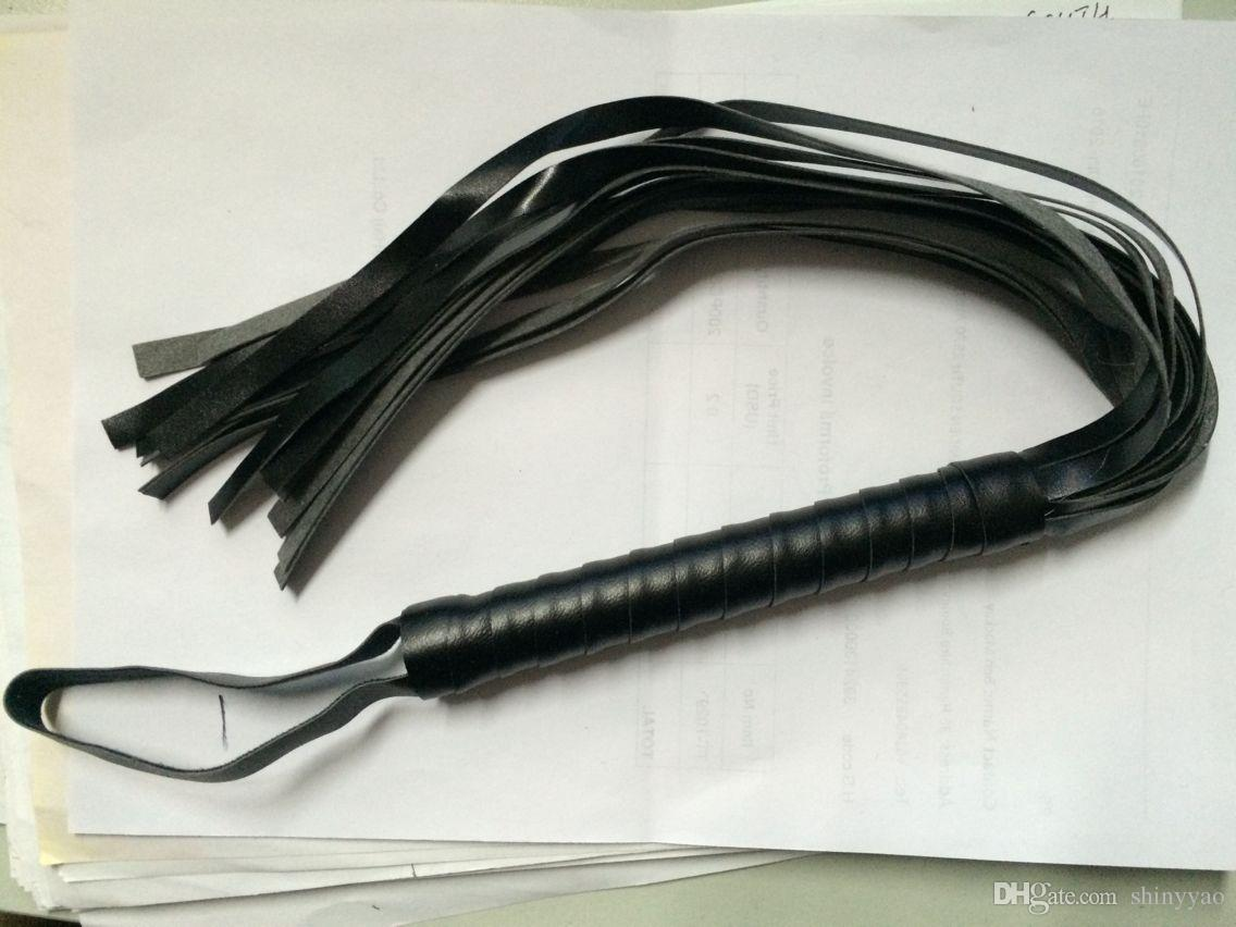 Jogo adulto BDSM Bondage Restrições Set Kit Bola Gag Cuff Chicote Collar Conjuntos de Brinquedos Fetiche Sexo Couro Bondage Collar
