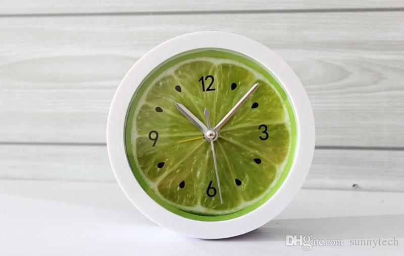 2017 جديد نمط الريفية كول الليمون فاكهة المنبه ساعة سطح كسول ووتش ساعة شحن مجاني ZA2865