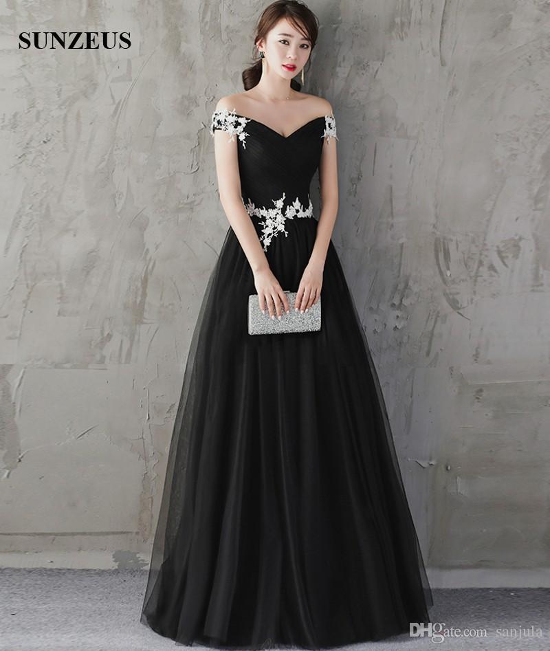 Imgenes De Long Black Elegant Evening Dresses