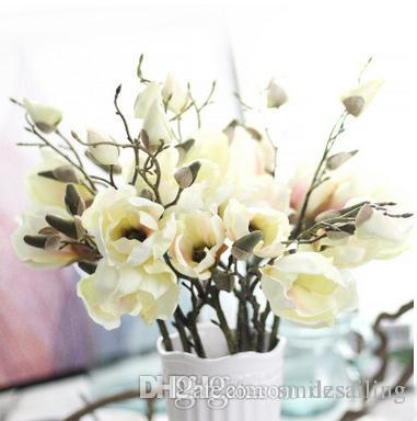 2018 magnolia stem flower wholesale silk flowers artificial 2018 magnolia stem flower wholesale silk flowers artificial decorative flowers for home wedding market decoration 04803 from smilesailing 232 dhgate mightylinksfo Images