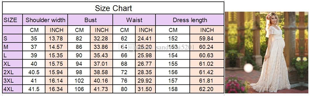 Maternity Dress For Photo Maternty Photography Props Short Sleeve Sexy Lace Pregnant Dresses 2017 Women Elegant Long Dress Plus Size S-4XL