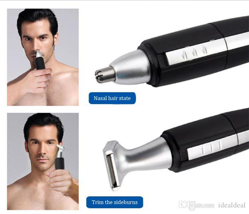 Battery Operated Hair Clipper Cutting Nose Ear Hair Trimmer Washable Beard Hair Shaver Face Care DeviEyebrows Shaper shaping clip razor dece