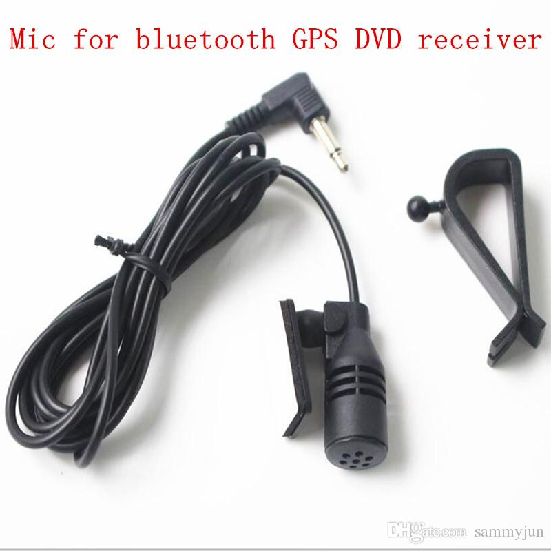 3.5mm Microphone Mic For Car Vehicle Stereo Radio GPS DVD Bluetooth Enabled Head Unit