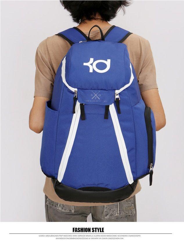 Letter KD Plain Edition Large Capacity Sports Bag Leisure Fitness ... b0c0e0b9d4353