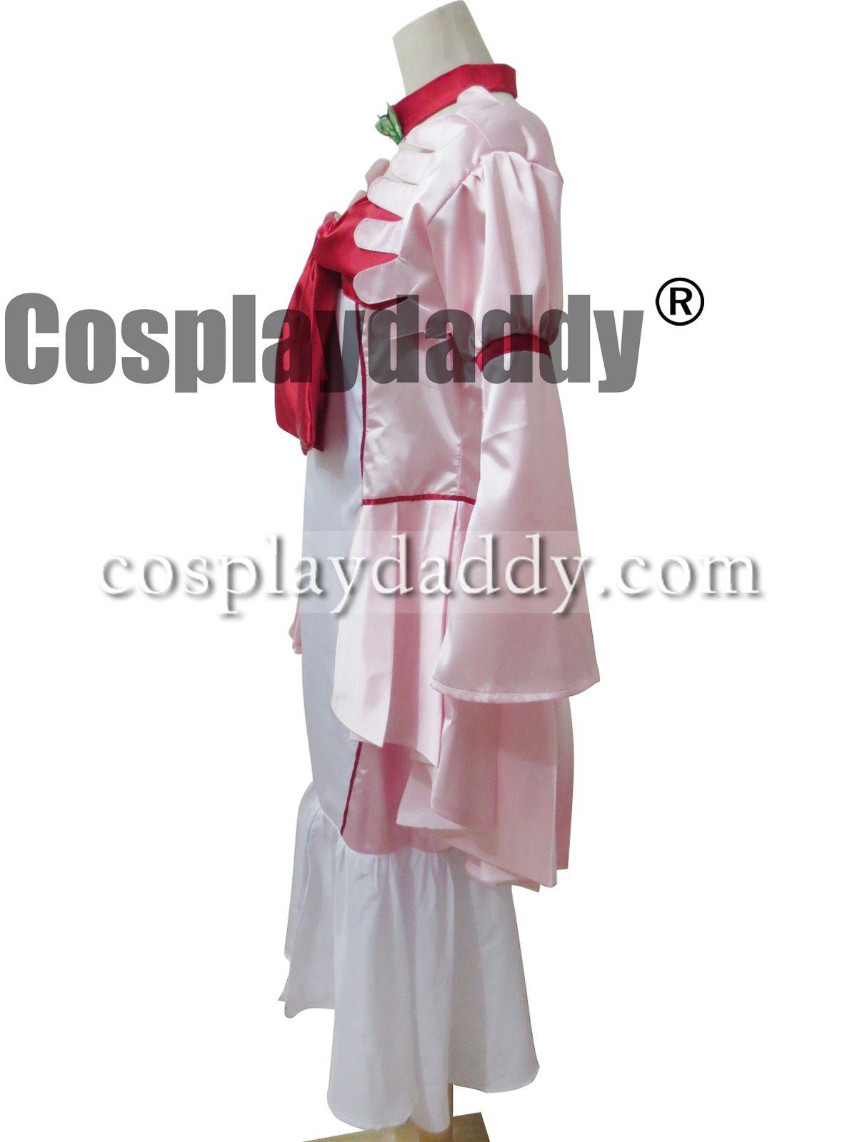 Kod Geass R2 Cosplay Nunnally Kostüm Vali Elbise
