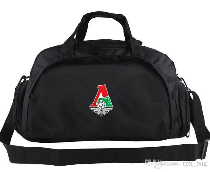 Lokomotiv Moscow Duffel Bag Travel Club Tote Emblem Backpack Football  Luggage Sport Shoulder Duffle Outdoor Sling Pack Travel Duffel Bag Online  with ... e4f9a8509bd26