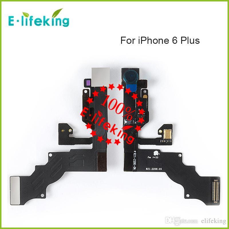 Yüksek Kaliteli Ön Kamera Meclisi Sensörü Flex Kablo ile bakan Kamera iPhone 6 6 s 4.7 inç + 6 Artı 6 s Artı 5.5