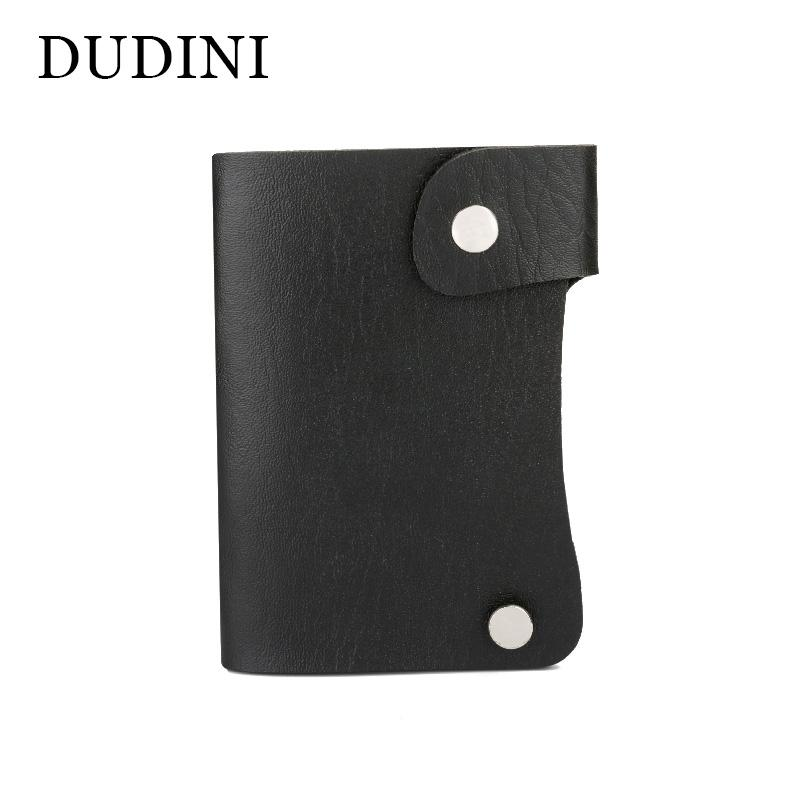 Dudini high grade unisex credit card holder wallet 10 slots simple dudini high grade unisex credit card holder wallet 10 slots simple business card bag rotating leather case cards holders engraved business card holders colourmoves