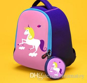 ffd58f1d163 2017 NEW Baby Girls Boys Unicorn Bunny Dinosaur Backpack for 3-6T ...