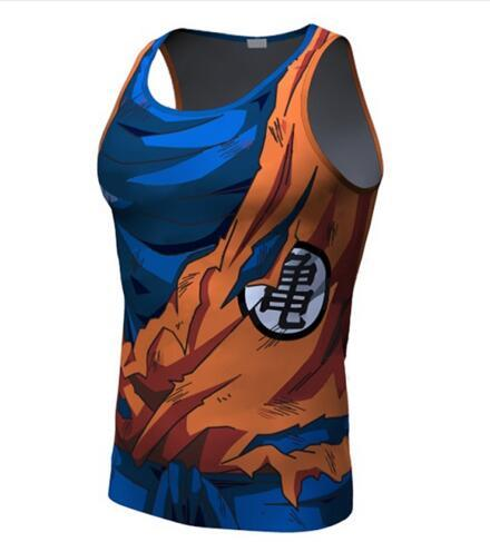 2016 Top Z Erkekler 3D Dragon Ball Z T Gömlek Vegeta Goku Yaz Tarzı Jersey 3D Üstleri Moda Giyim Tees Artı