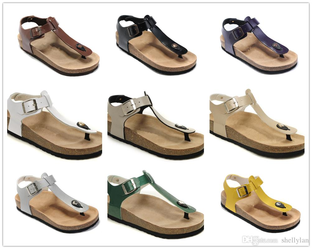 e2fb76572 New Style Famous Brand Kairo Women Flat Heel Flip Flops Sandal Summer  Casual Ventilation Comfortable Top Quality Genuine Leather Slippers Summer  Shoes ...