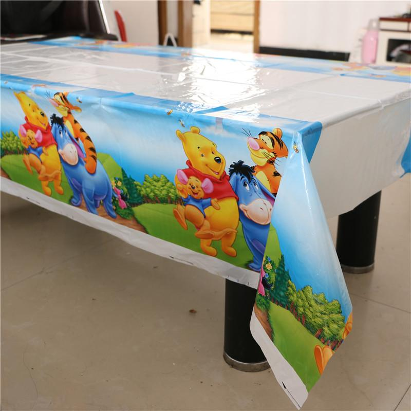 Wholesale Table Cloth Tablecover 108cm*180cm Winnie The Pooh Baby Shower  Decoration Boy Happy Birthday Theme Kids Children Party White Damask  Tablecloth ...