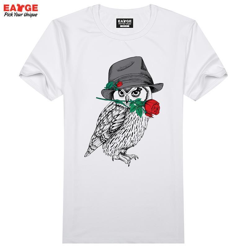 Owl T Shirt Design Creative T Shirt Cool Novelty Fun T Shirt Style ...