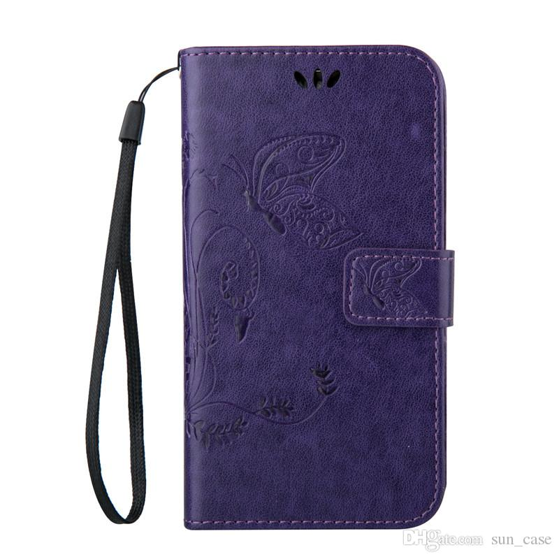 Cover for Motorola Moto G3 HTC M8 M9 816 820 626 826 Samsung Galaxy S8 Plus S3 PU Leather Stand Wallet with Rope Card Slots Cases