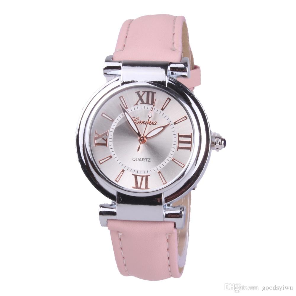 Fashion Ladies Quartz Watch Women Pu Leather Band Costume Casual Watch Student Wristwatch Clock Various Cheap Branded Watches Buy Cheap Watches Online From ...  sc 1 st  DHgate.com & Fashion Ladies Quartz Watch Women Pu Leather Band Costume Casual ...