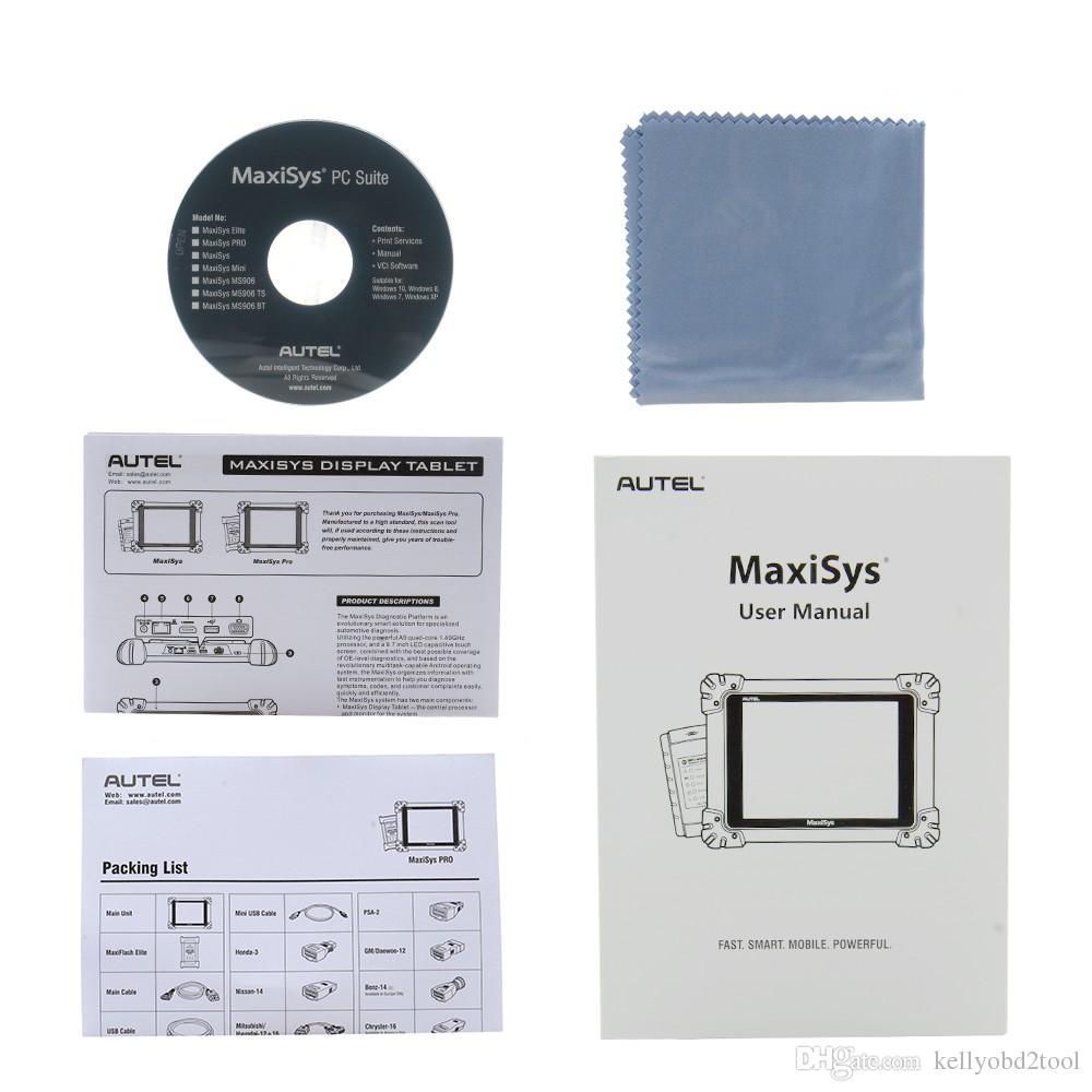 AUTEL Maxisys Pro ms908p Autel Maxisys MS908 Pro Autel MS908P Conding J2534 ECU Programming Diagnostic Scanner Update Online Free 2 Years