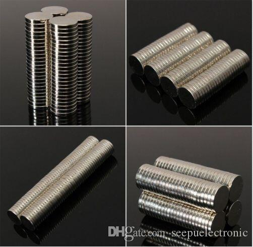 Hot sale Super Strong Round Disc Cylinder 12 *5mm Magnets Rare Earth Neodymium N35 Round Shape N S 80 degrees N35 zinc plating
