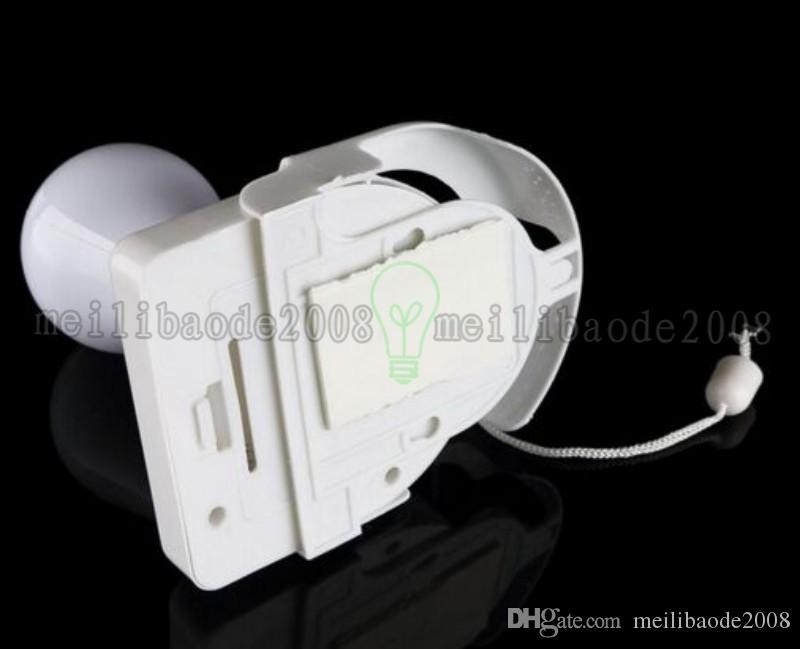 2017 NUOVE luci bianche senza fili a batteria di notte luce portatile portatile lampadina armadio lampada spedizione gratuita MYY