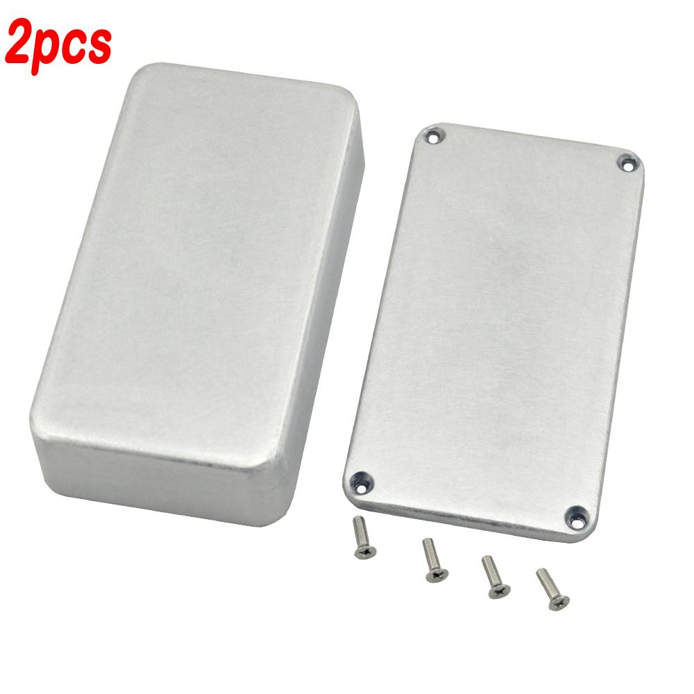 2PCS 1590B Series Aluminum Stomp Box For Guitar Effects Pedal box/DIY Pedal Box