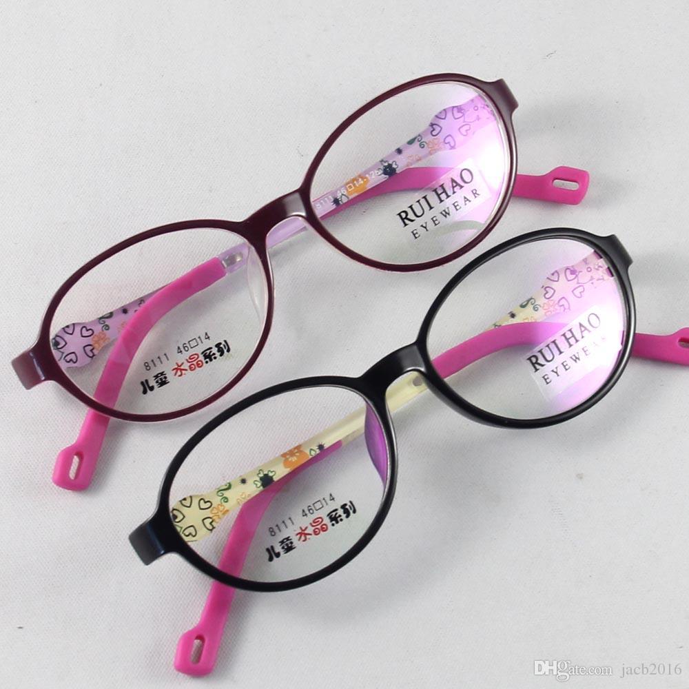 2017 Kids Eyewear Frames Children Glasses Girls Eyeglasses Boyers ...