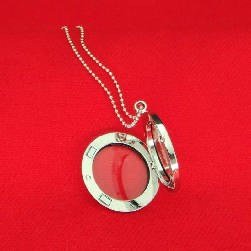 Médaillon Pendentif Collier flottant femmes magnétique verre mémoire vivante charme flottant Médaillon perles Chaînes de bricolage colliers Drop Shipping