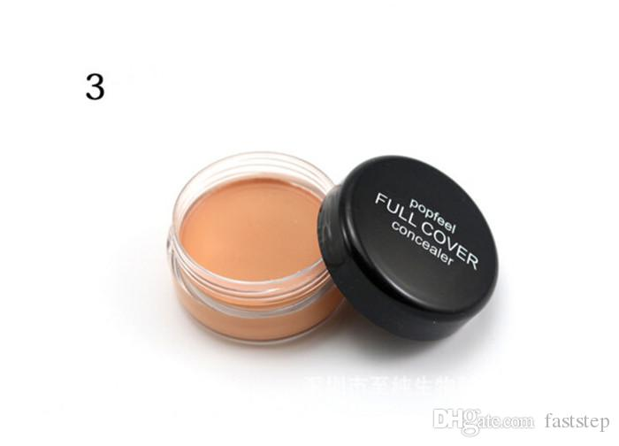 2018 New Makeup Face Popfeel Full Cover Concealer!5 Different Colors wholesale price DHL from faststep