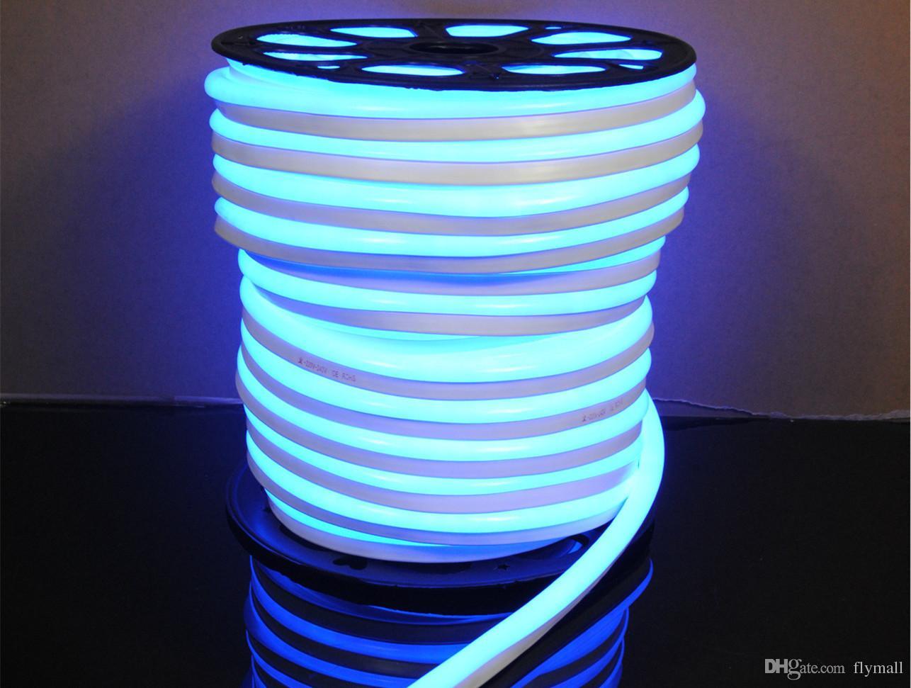 110V 220V LED Flex Neon Rope Light Waterproof 80led/M Led Neon Tube Flexible Strip Light Indoor Outdoor Lighting Christmas Decoration