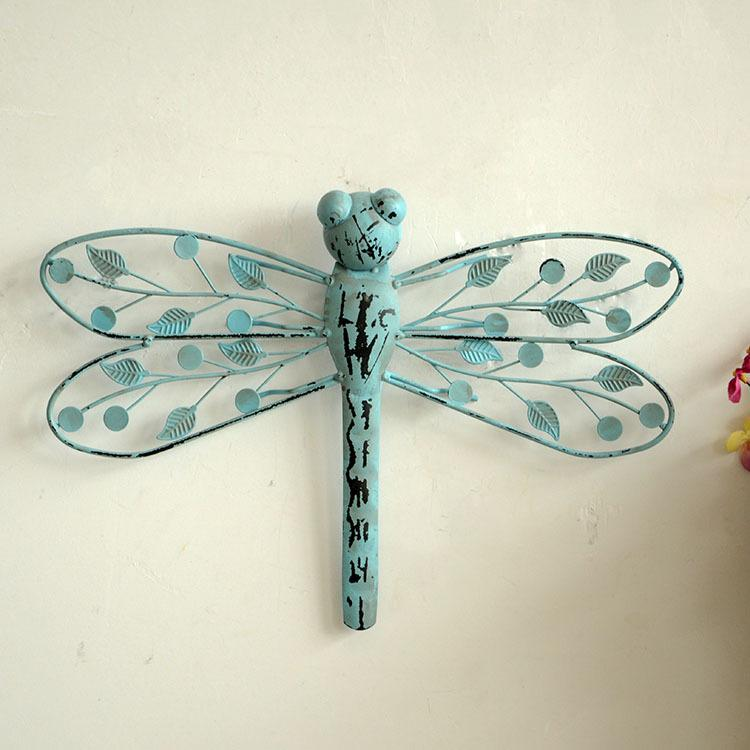 2018 Zakka Dragonfly Model Metal Crafts Garden Decoration Home Decoration  Accessories For Living Room 32cm*22cm From Tiankonghalei, $26.86 |  Dhgate.Com
