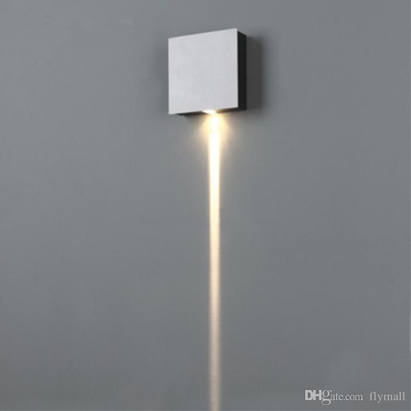 Modern Cross-shaped Star Wall Light Square/Round 3W 6W 9W 12W Aluminum LED Wall Lamps Night Light for Bedside Corridor Aisle Bar Lights