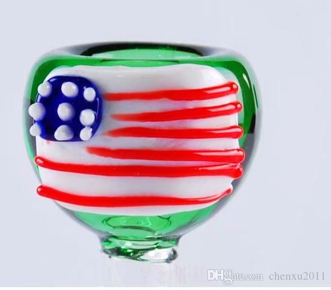 Accesorios nacionales de la vela de cristal, Bongs de cristal al por mayor Quemador de aceite Tubos de cristal Waters Pipe Oil Rigs Fumar Envío gratis