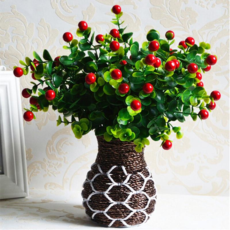 2018 wholesale green artificial plants fake floral plastic silk 2018 wholesale green artificial plants fake floral plastic silk flowers eucalyptus plant flowers office hotel table decor artificial grass from sophine08 mightylinksfo