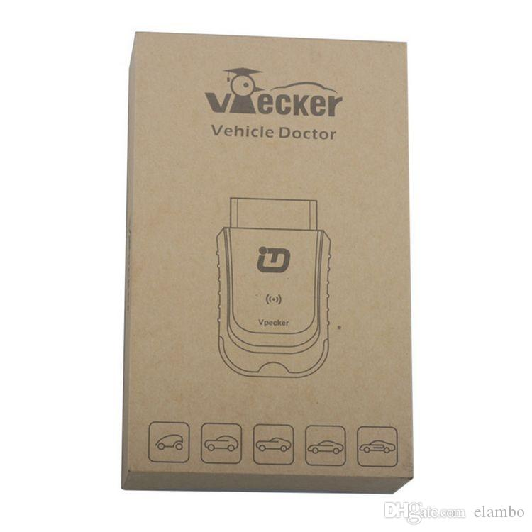 Car Diagnostic Tool Vpecker EasyDiag Newest V9.0 Wifi/Bluetooth Full System OBD2 Automotive Scanner for America,Europe,Asia cars