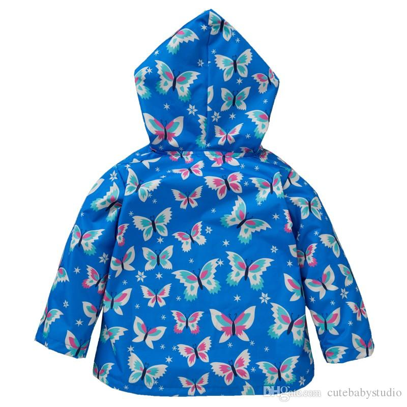 c7f2b895babf KEAIYOUHUO 2017 Autumn Winter Girls Jacket For Girls Raincoat Coat ...
