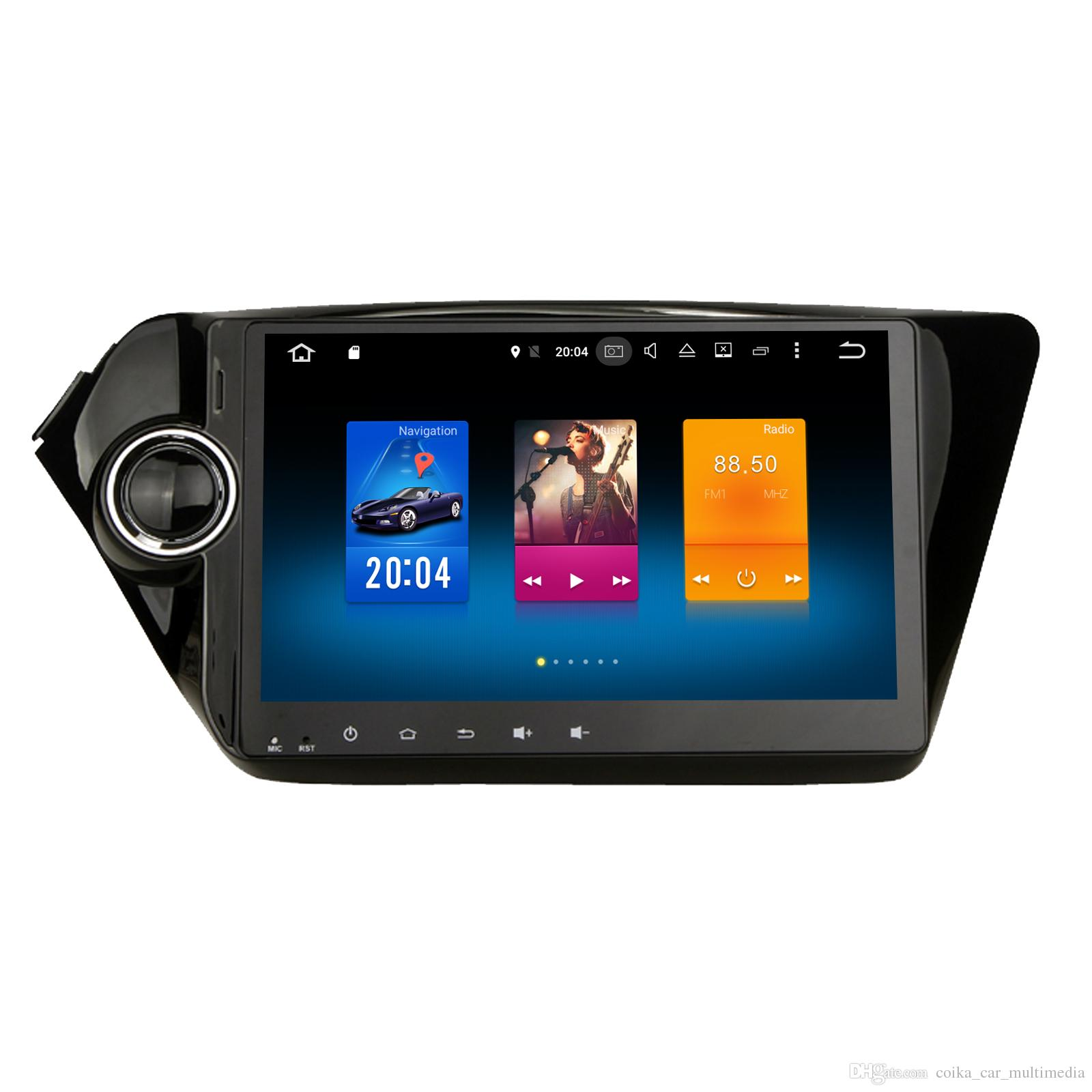 9 octa core android 6.0 car dvd player for kia rio k2 gps tape