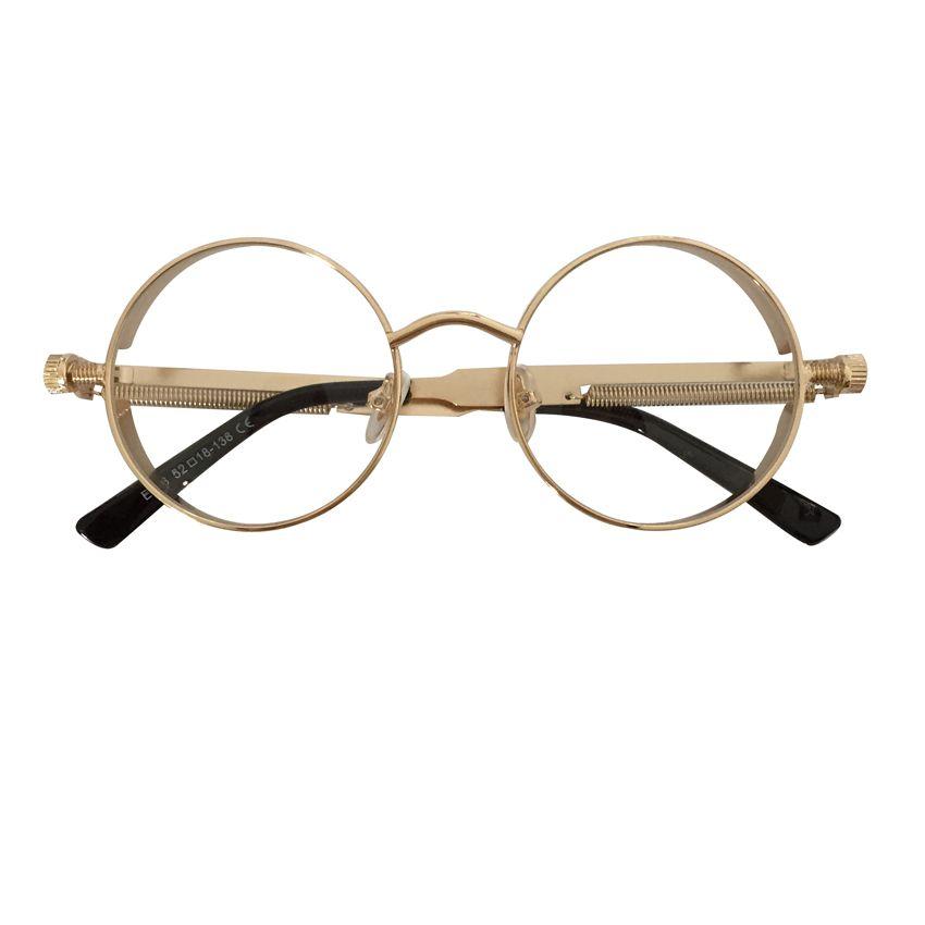 Compre Peekaboo De Alta Qualidade Retro Mulheres Rodada Óculos De Sol  Steampunk Armação De Metal Do Vintage Rodada Óculos De Sol Espelho  Masculino Feminino ... a25b5b21e7