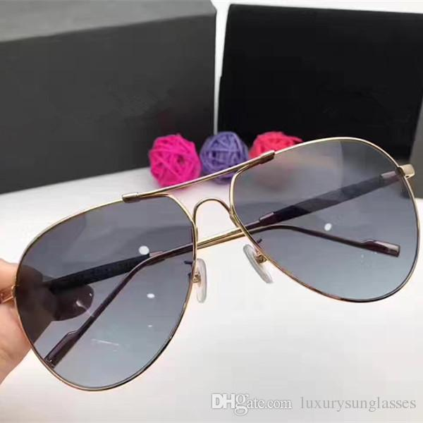 00145dcb47 3018 Luxury Fashion Sunglasses Popular Oval Frame UV Protection Men Brand  Designer Vintage Oval Frame Top Quality Come With Case Polarized Sunglasses  ...