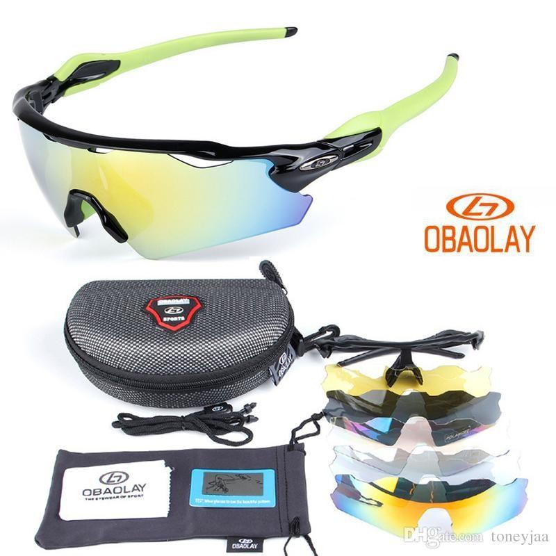 aba836ca70f Hot Sale OBAOLAY Polarized Cycling Sunglasses Men EV Ciclismo Occhiali Bike  Eyewear Cycling Goggles UV400 Fashion Sunglass With 5 Lens Sunglasses  Cycling ...