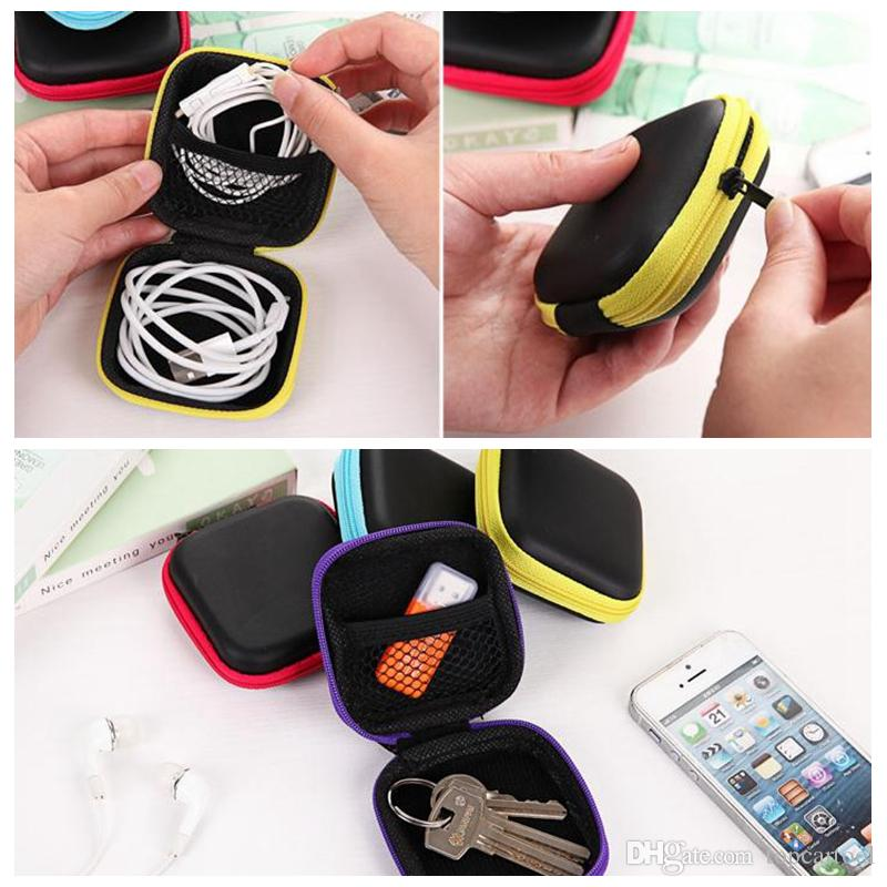 2018 Earphone Wire Box Protective Usb Mini Hold Cases Earbuds ...