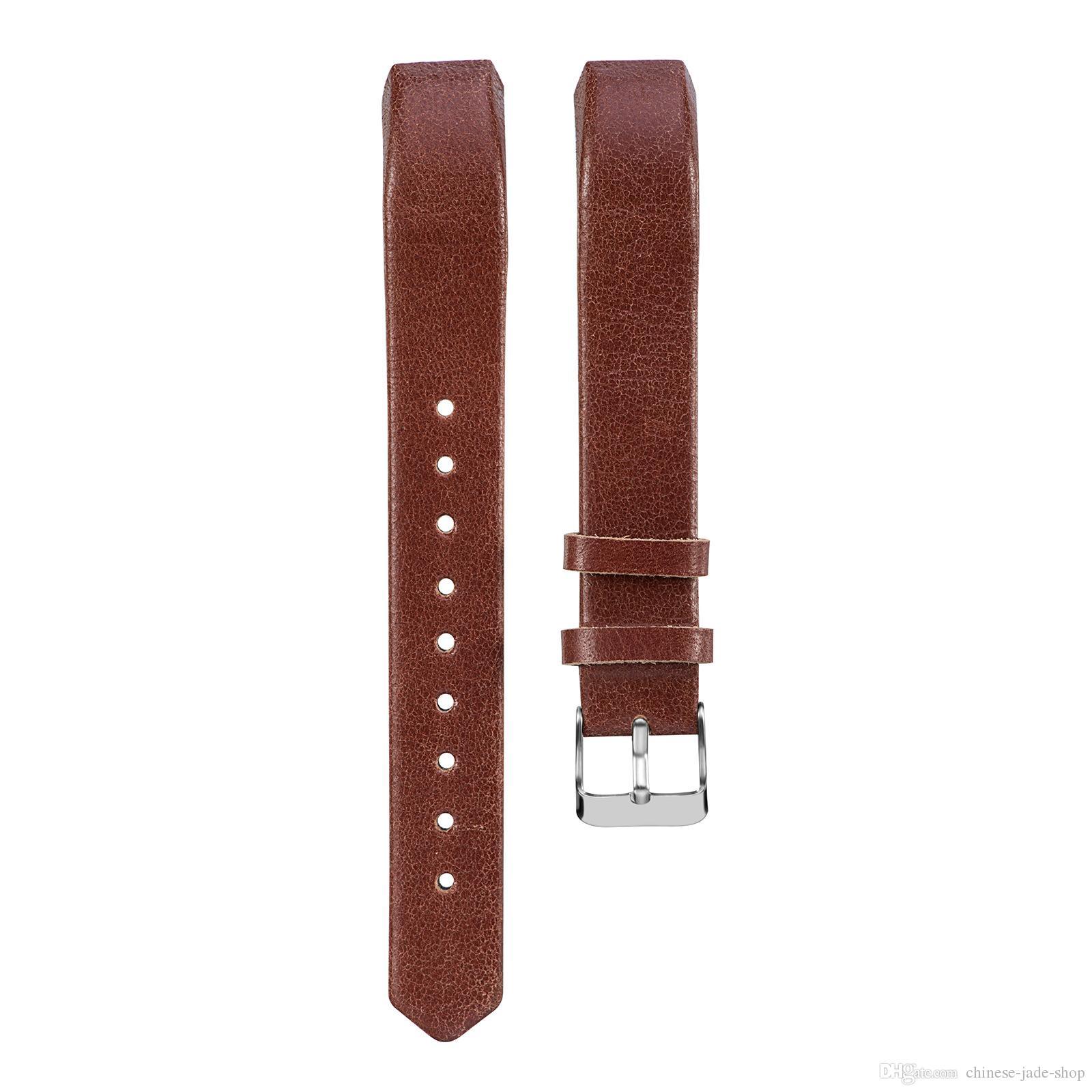 Головной слой натуральной кожи натуральной кожи ремешок для Fitbit Alta Alta HR ремешки ремешок браслет 10 цвет 30 пара /лот