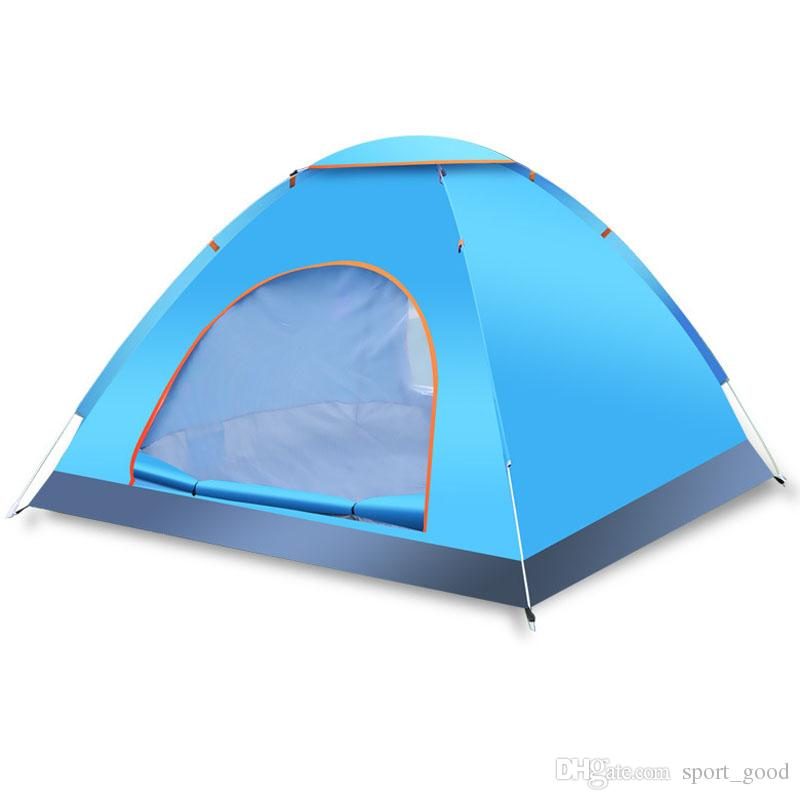 Outdoor Folding Rain Proof Summer C& Tent Windproof Portable Family Car Traveling Tent Shelter Hiking Fishing Outdoor Tents Shelters Outdoor Tents Tents ...  sc 1 st  DHgate.com & Outdoor Folding Rain Proof Summer Camp Tent Windproof Portable ...