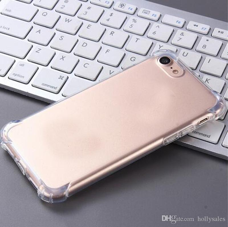 For iphone xr xs max 7 8 plus samsung s10 s8 note9 soft bumper TPU case back Cover ultra silm shockproof cases for huawei LG