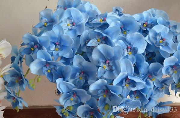 Phalaenopsis Orchid Silk Flower Heads - 4.8