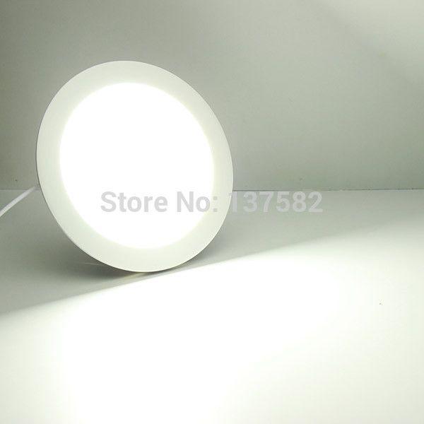 Wholesale 25 Watt Round Led Ceiling Light Recessed Kitchen Bathroom ...