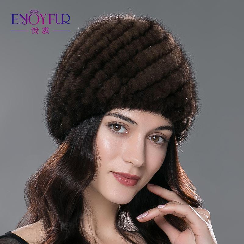 cf0c439fd70af9 Winter Mink Fur Hat For Women Genuine Natural Fur Pineapple Cap Russian  Beanies Hat Fashion Good Quality Thick Warm Fur Hats Baby Hat Crochet Baby  Hats From ...