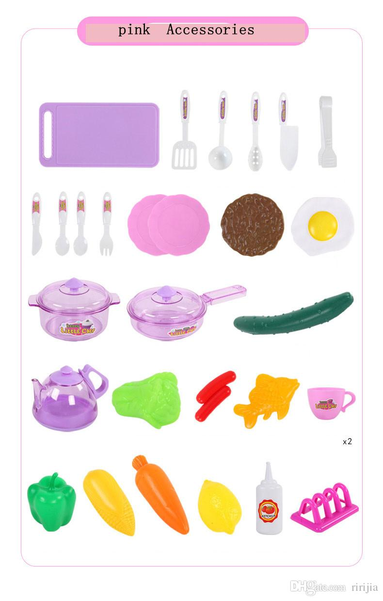 Beiens Brand Toys Children's Play Kitchen Set Kitchen Cooking Toy Simulation Toy Boys And Girls Pretend Play Toys